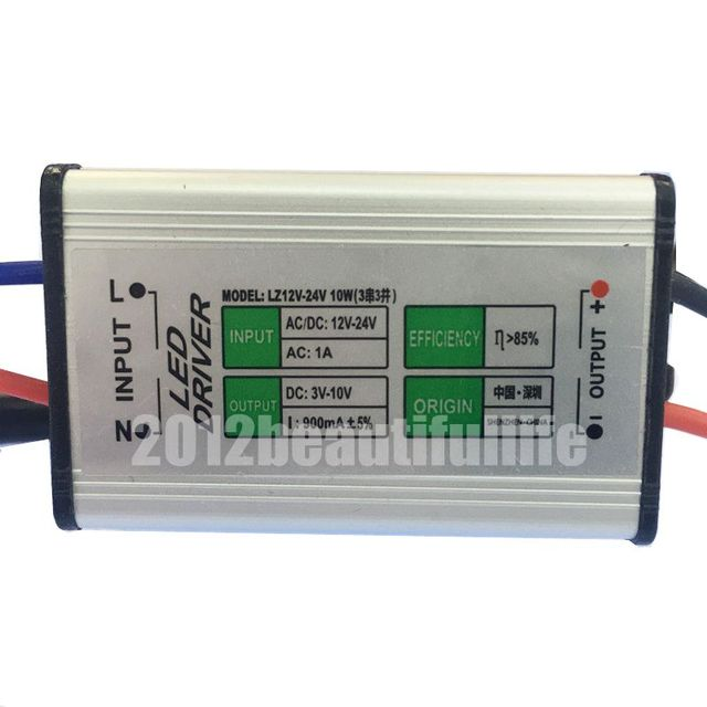 dc12 24v 10w constant current high power led driver dc3 10v 900ma indc12 24v 10w constant current high power led driver dc3 10v 900ma