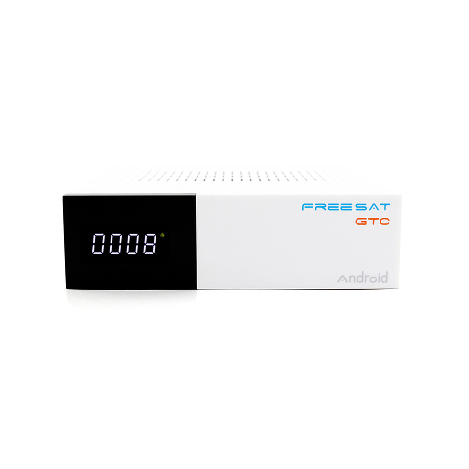 Freesat GTC спутниковый ресивер DVB S2 DVB C DVB T2 ISDB T 2 ГБ Оперативная память 16 ГБ Встроенная память BT4.0 Amlogic S905D set Top box android 6,0 ТВ коробка
