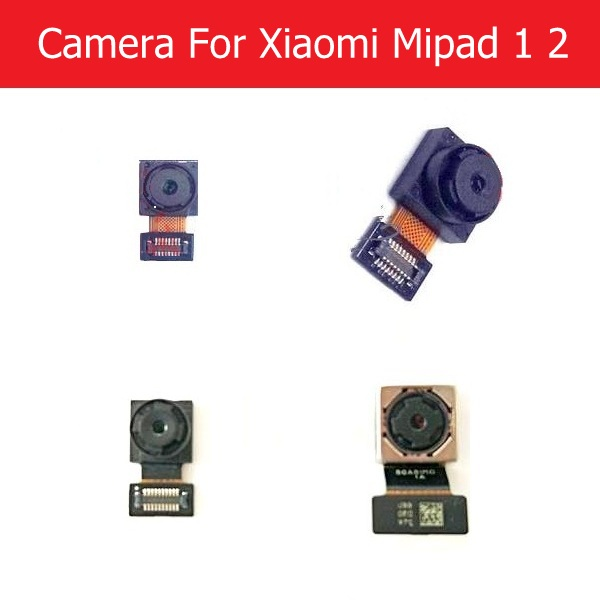 Weeten 100% Genuine Front & Rear camera module for Xiaomi Mipad 1 2 back camera with flex cable good tested replacement repair replacement front internal camera for xiaomi 2s brown