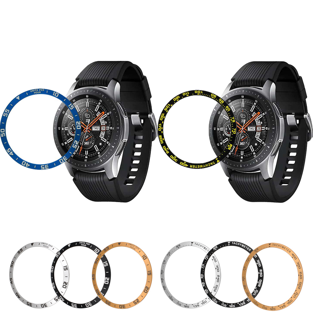 Outer edge For Samsung Galaxy Watch 46mm 42mm case Gear S3 Frontier/Classic sport Ring Anti Scratch smart watch accessories 20mm