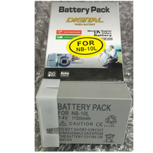 NB-10L цифровой Батареи для камеры NB 10l литиевых батарей для Canon SX40 HS sx40hs SX50 HS sx50hs G1 X G1X G15 g16 SX60 hs g3x