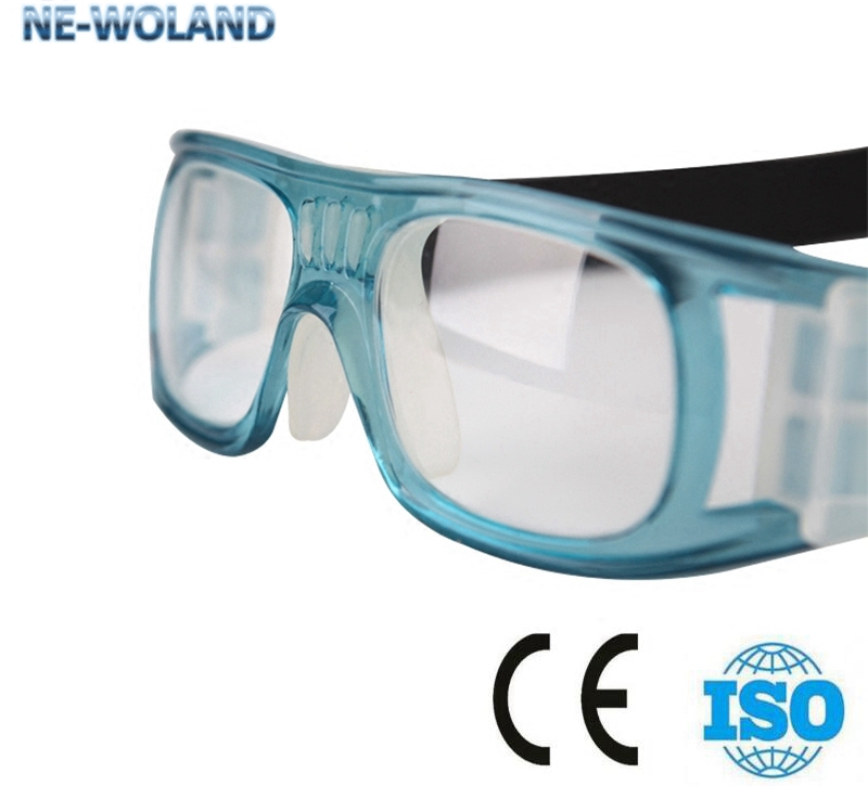 Medical glasses gamma rays and x-ray protection 0.75mmpb sports type lead spectacles Nuclear radiation protective pglasses