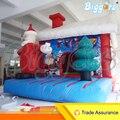 Biggors inflável Seguranças Pulando Castelo inflável Decoração de Natal Dos Miúdos Melhor Presente Oudtoor PVC Casa do Salto