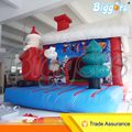 Inflatable Biggors Bouncy Castle Christmas Decoration Kids Best Gift Oudtoor Bouncers Jumping PVC Bounce House