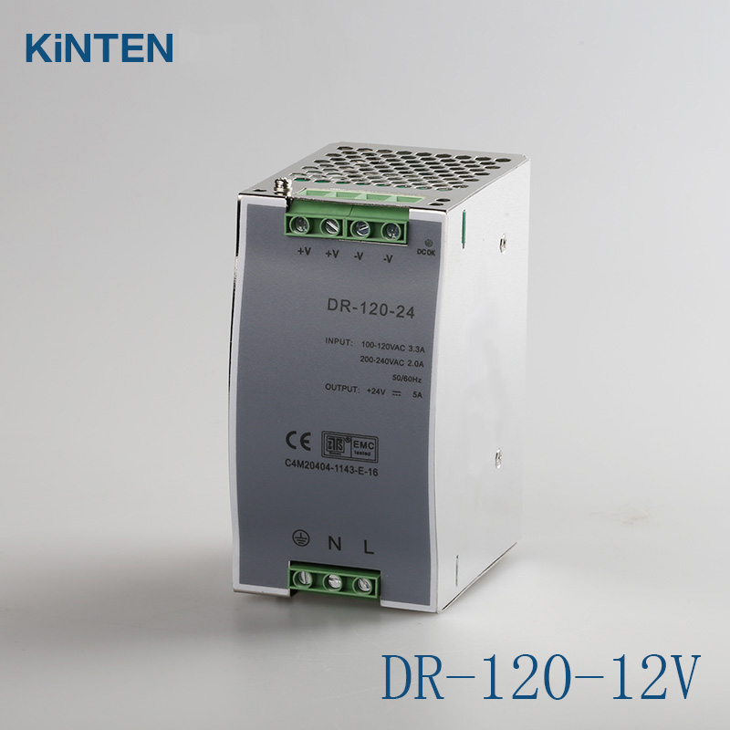 ФОТО Rail-type switching power supply DR-120-12V 8.3A DC power supply