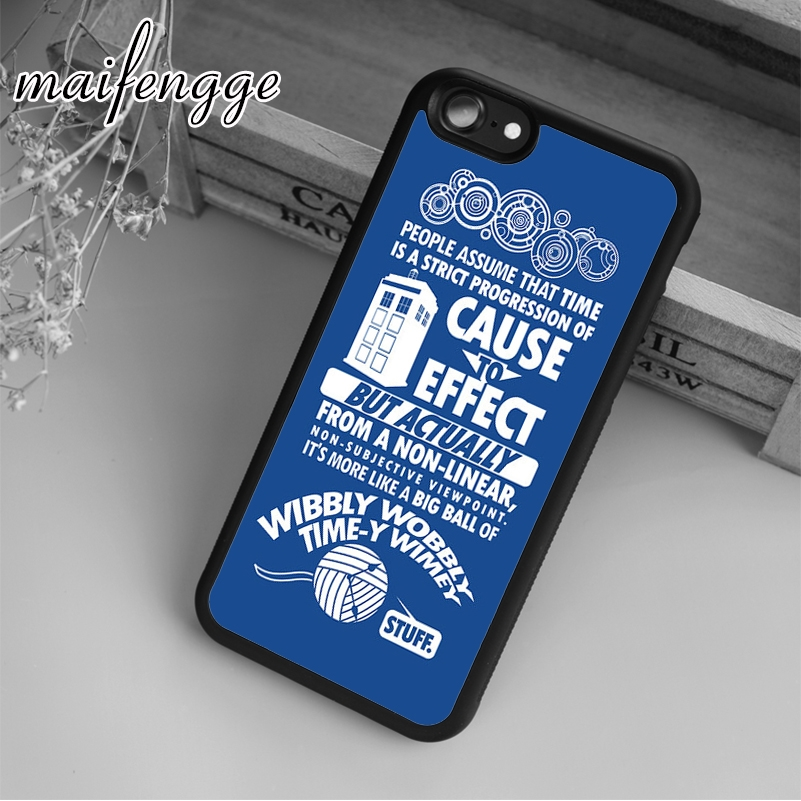 Cellphones & Telecommunications Audacious Maifengge Custom Doctor Who Case For Iphone 6 6s 7 8 Plus X 5 5s Se Case Cover For Samsung S5 S6 S7 Edge S8 Plus Shell Commodities Are Available Without Restriction Fitted Cases