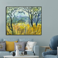 Abstract Forest Famous Oil Painting Wall Art Poster Print Canvas Painting Calligraphy Decor Picture for Living Room Home Decor робот трансформер 1toy робот машина бетономешалка на радиоуправлении т11022