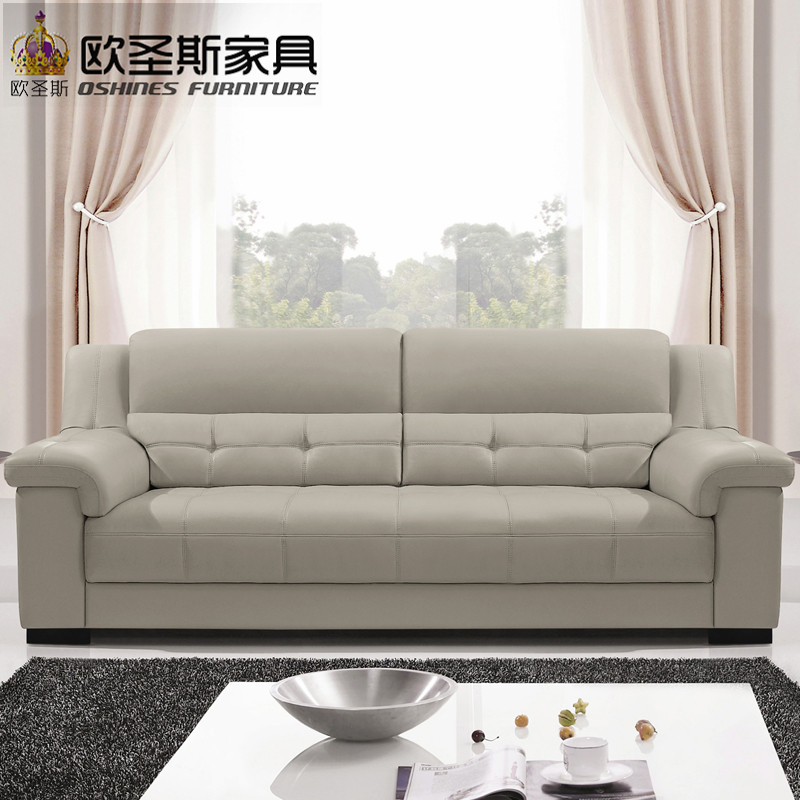 Detail Feedback Questions About 2019 New Arival Pure Color Decoration Modern Style Recliner 1 2 3 Seats Combination Living Room Genuine Leather Sofa Ocs
