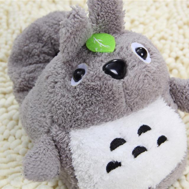 Studio Ghibli My Neighbor Totoro – Unisex Soft Warm Plush House Totoro Slippers with 2 Styles