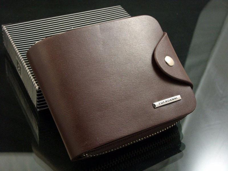 где купить Luxury Men Wallets PU Leather ID Card Holder Billfold Zip Coin Purse business Wallet super quality Carteira Masculina по лучшей цене