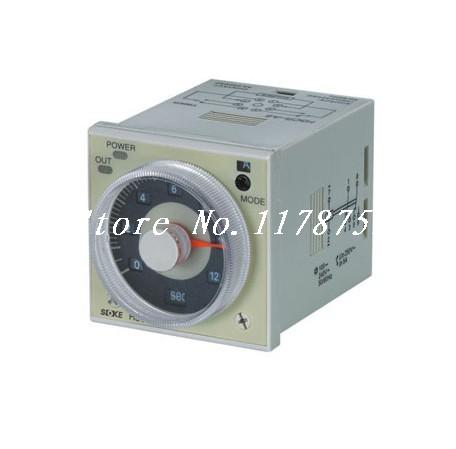 Time Delay Relay Timer H3CR-A8E 12-48VDC/24-48VAC SPDT 11 Pins&Socket Standard(0.1S to 300H) Models 220vac digital time delay repeat cycle relay timer 1s 990h led display 8 pin panel installed dh48s s spdt