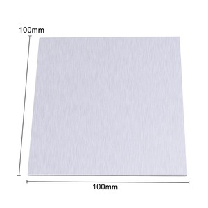 Image 2 - 1Pcsแผ่นสังกะสีบริสุทธิ์99.9% โลหะสังกะสีแผ่นฟอยล์สำหรับวิทยาศาสตร์Labอุปกรณ์เสริม100x100x0.5mm