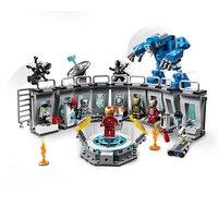 Marvel Мстители Железный человек Строительный набор Блоки Игрушки совместимы с 76125
