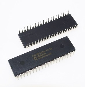 Image 1 - PIC18F4550 I/P PIC18F4550 18F4550 USB Microcontrollers DIP40 IC PIC MCU FLASH 16KX16 NEW