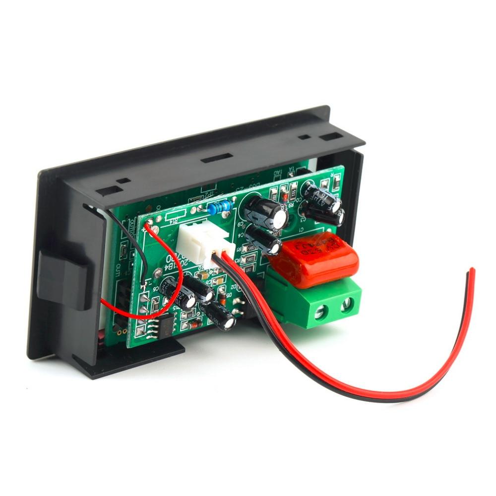 AC Digital Ammeter Voltmeter LCD Panel Amp Volt Meter 100A 300V 110V 220V Tool