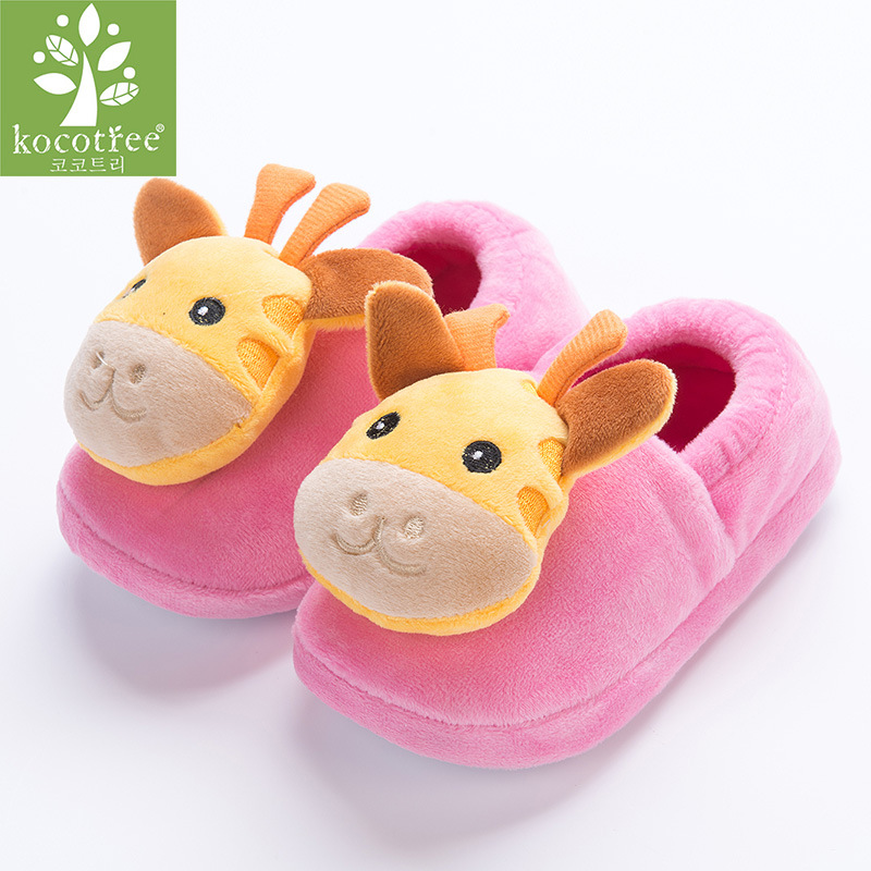 Giraffe Animal Pattern Kids Slippers Home Slippers Children For Girls House Indoor Shoes Warm Winter Bedroom Baby Boys Shoes giraffe animal pattern kids slippers home slippers children for girls house indoor shoes warm winter bedroom baby boys shoes