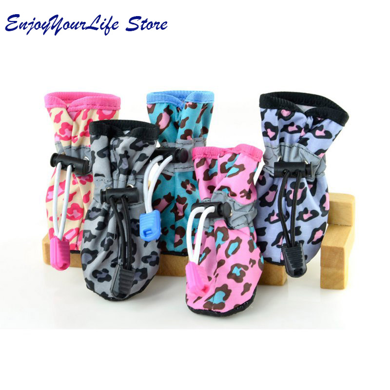 Winter Dog Shoes Waterproof Pet Shoes For Dog Warm Rain Dog Boots Socks Pet Shoes Chihuahua Yorkshire