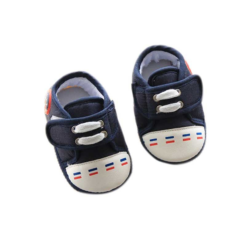 Baby Boys Girl Shoes Solid Cotton Infant Soft Sole Baby First Walker Toddler Shoes Baby Boys Anti-slid Shoes 0-12M