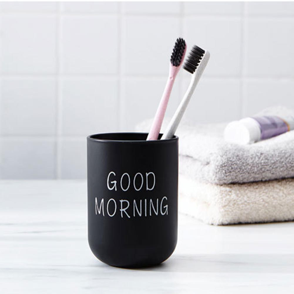 Simple Nordic Travel Portable Washing Cup  Plastic Toothbrush Holder Tooth Brush Storage Organizer Cup
