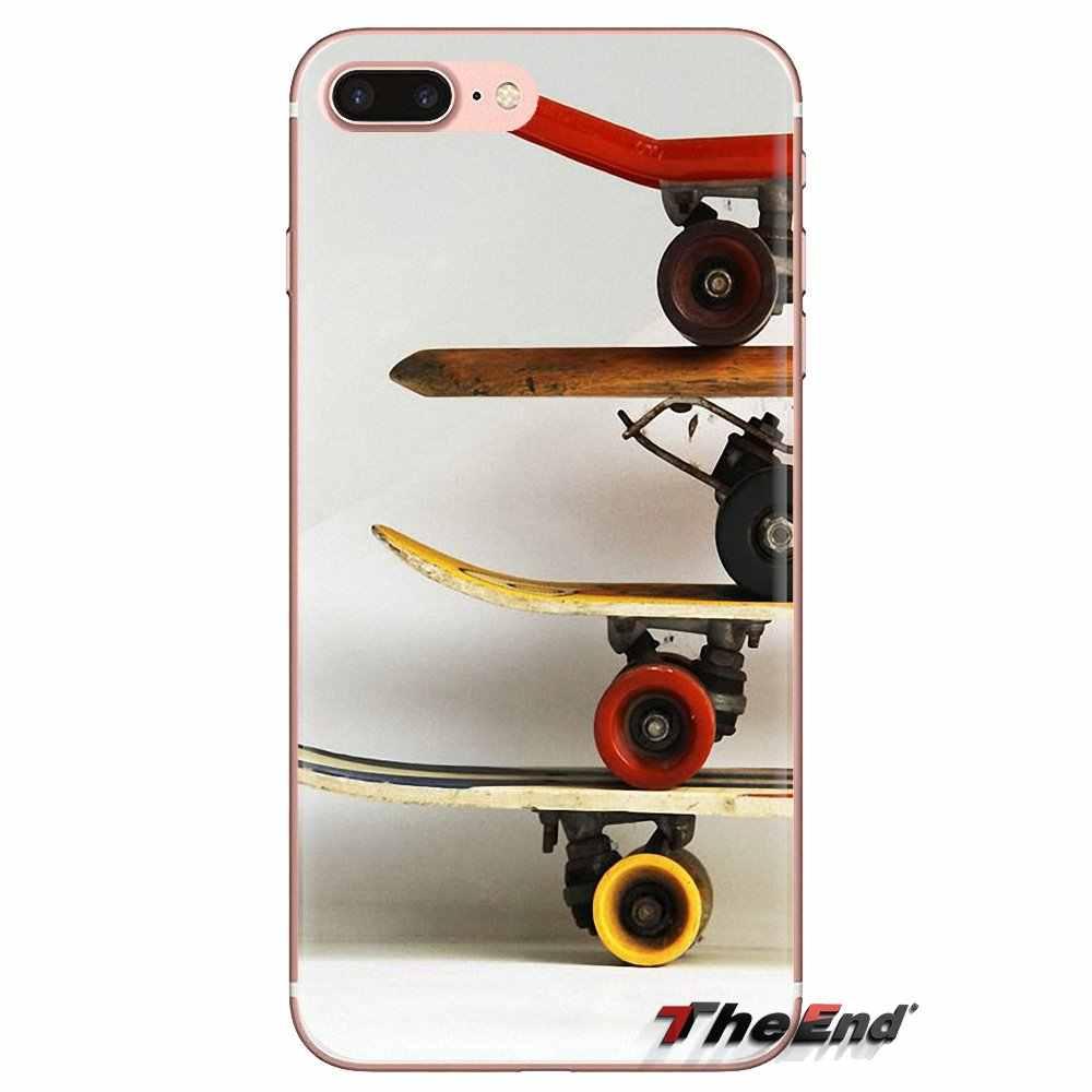 Skateboarding sports pour Xiaomi Redmi 4A S2 Note 3 3 S 4 4X5 Plus 6 7 6A Pro Pocophone F1 doux Transparent housses