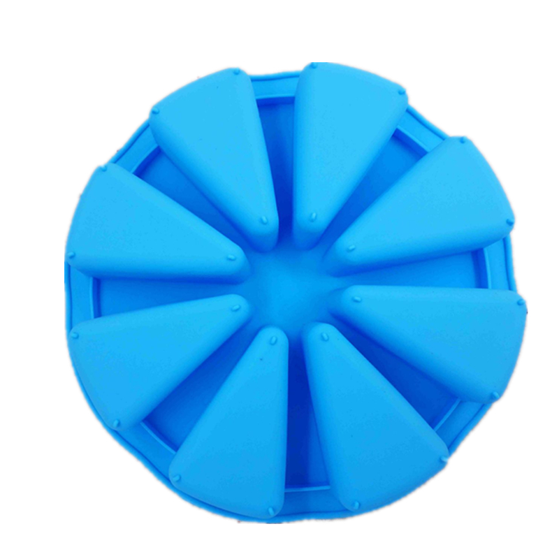 Silicone Bakeware Baking Food Grade Mold 8 Points Scone Cake Household Used In Microwave Oven D937