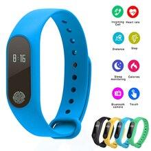 Смарт-браслет M2 водостойкий умный Браслет монитор Bluetooth 4,0 прибор для отслеживания сна SmartBand фитнес-трекер Шагомер Браслет pk mi Band 2 3