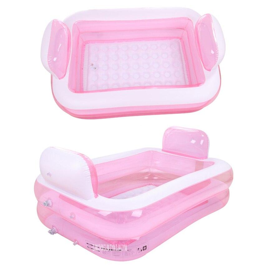 Baignoire gonflable adulte portative de PVC se pliant la baignoire de beauté de l'eau sûre et écologique épaisse Non toxique NA15210860 - 6