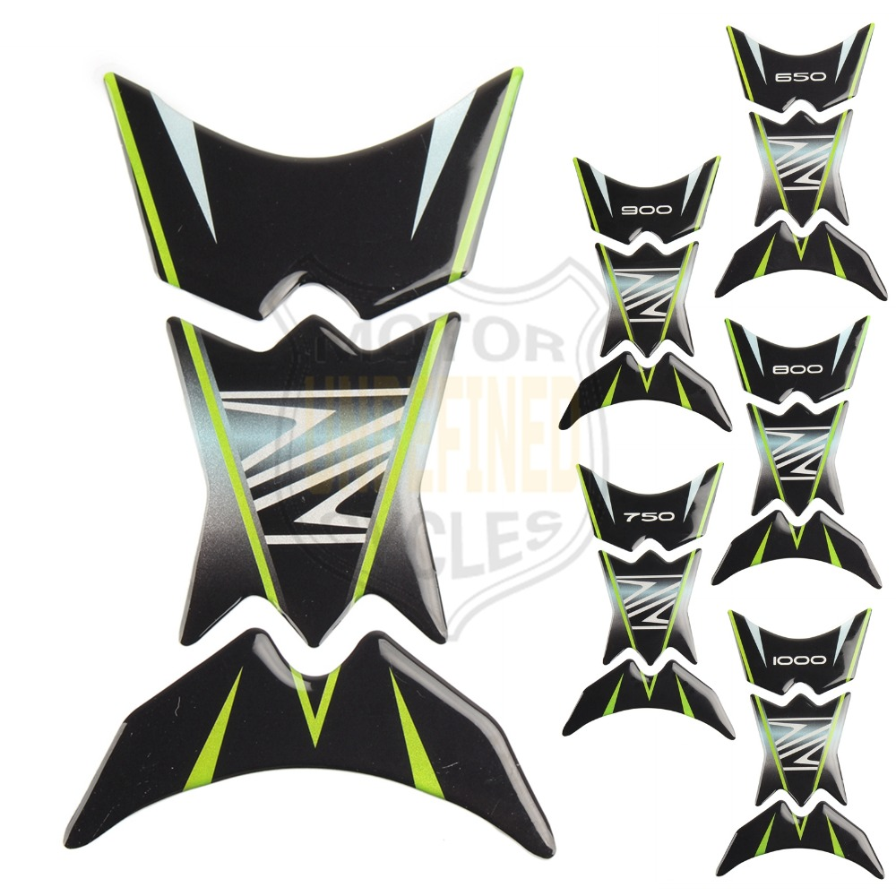 Motorbike Accessories Decals & Stickers Undefined For Kawasaki Z1000 Z900 Z750 Z650 Z 3d Motorcycle Sticker Fishbone Fuel Tank Pad Protector Decal Pegatinas Moto