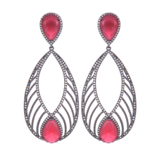 SisCathy Hot Elegant Long Dangle Drop Statement Earrings for Women Crystal Party Bridal Wedding Jewelry 2019