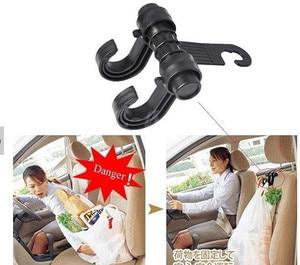 Image 2 - Car Seat Hanger Hooks Double Hooks Coat Purse Shopping Bag Organizer Holder Plastic Hanger,Car Styling,Car Seat Covers