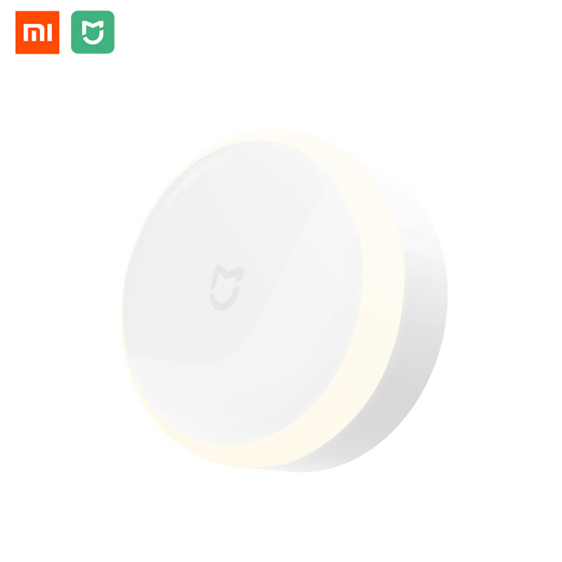 Original Xiaomi Mijia LED Corridor Night Light Infrared Remote Control Human Body Motion Sensor for Mi Home Night Lamp keyshare dual bulb night vision led light kit for remote control drones