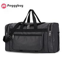 Вместительная модная дорожная сумка для мужчин, сумка для отдыха и путешествий, сумка для путешествий, портативная Водонепроницаемая нейлоновая Мужская спортивная сумка для спортзала