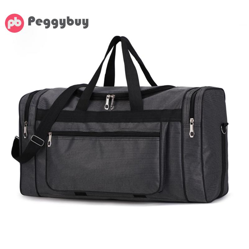 High Capacity Fashion Travel Bag For Men Leisure Travel Fitness Handbag  Travel Bag Portable Waterproof Nylon Men Sports Gym Bag