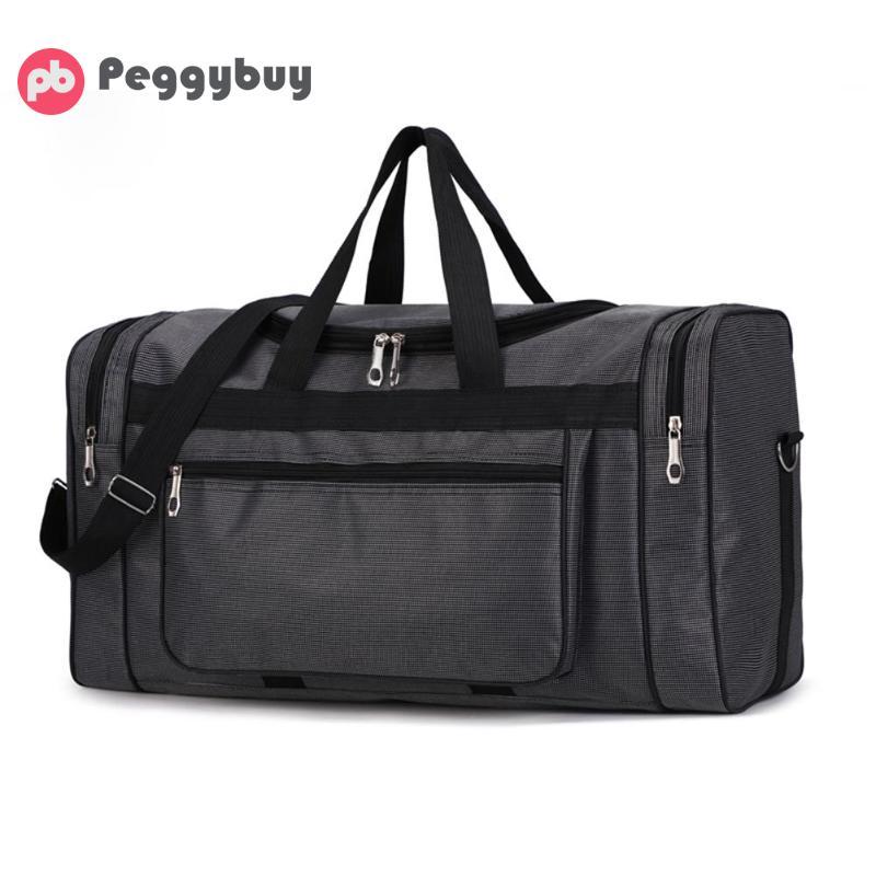 High Capacity Fashion Travel Bag For Men Leisure Travel Fitness Handbag  Travel Bag Portable Waterproof Nylon Men Sports Gym Bag