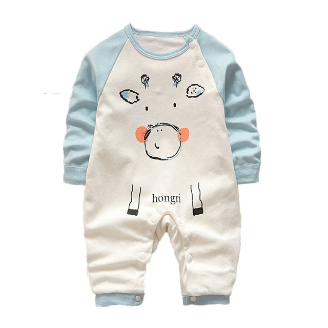 c3e9baca36f71 Baby Rompers Spring Baby Girl Clothes Cotton Baby Boy Clothing Roupas Bebe  Newborn Clothes Infant Baby Jumpsuits Kids Costume-in Rompers from Mother &  ...