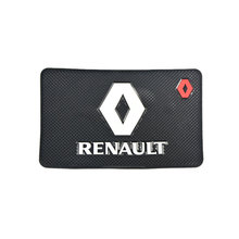 Excellent JDM Car-Styling Anti Slip Non-Slip Mat Case For Renault Latitud Duster logan Captur Interior Car Styling Accessories