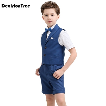 2019 new children costumes models short sleeved overalls students chorus clothing school uniforms stage performance clothing