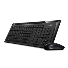 Unique Rapoo X336 2.4G wi-fi keyboard and mouse combo 1000DPI waterproof for dwelling workplace consumer [without battery]