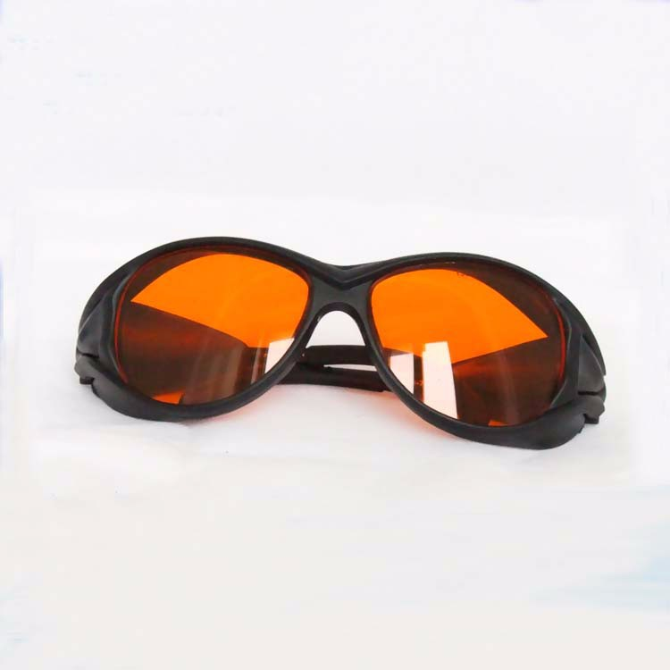 Green laser glasses violet laser glasses blue laser glasses for 190-540nm O.D 4+ CE  certified