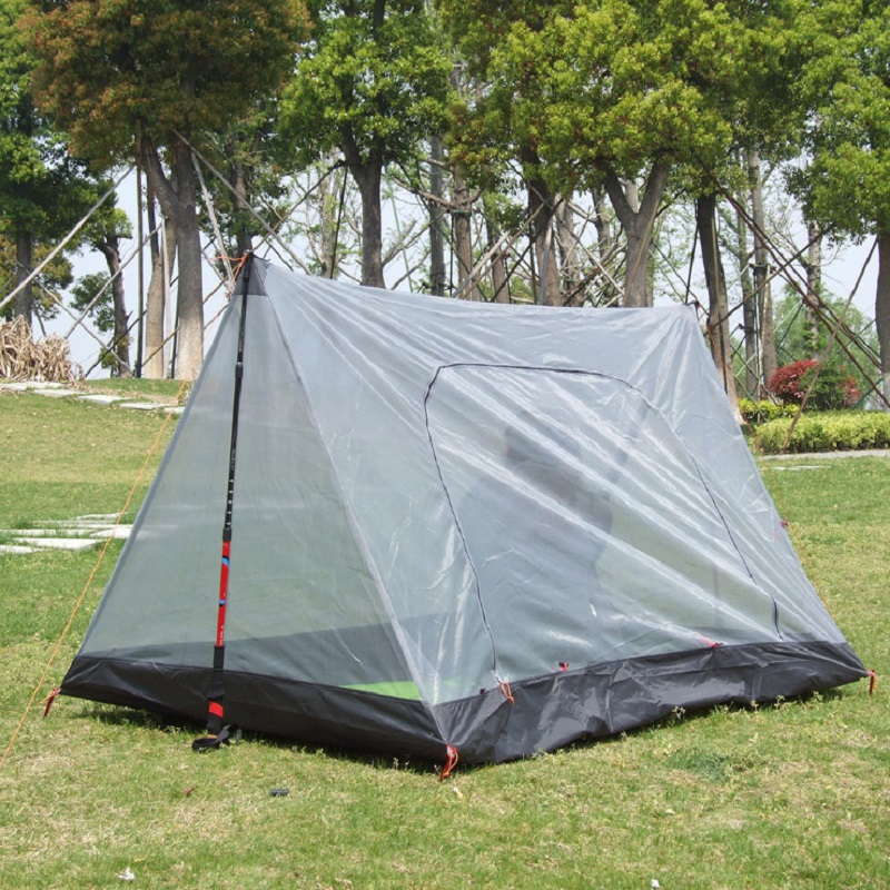 Ultralight Outdoor mosquito net for camping tent Summer 1-2 people Single tents Breathable gauze tent Anti mosquito tent outdoor camping tent 3 4 beach tent camping tent single summer mosquito children play tent