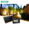 Buena calidad Panel Solar 12 LED Sensor de Luz de Inundación Solar Al Aire Libre del reflector de Emergencia de Seguridad Jardín Sendero Pared Lámparas SpotLight