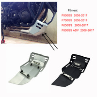 Motorcycle Accessoires Skid Plate For BMW F800GS F700GS F650GS 2008 2009 2010 2011 2012 2013 2014 2015 2016 2017 Black Silver