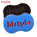 ELERA magic twist hair sponge,hair curl sponge brush for natural hair,afro coil wave sponge brushes