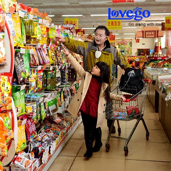 Concentrador de oxígeno portátil de 4 horas / oxígeno para ashama - Electrodomésticos - foto 6