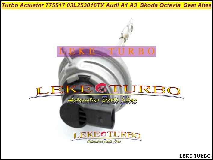 цена на Turbo Actuator 775517 775517-5002S 775517-9001S 775517-9002S 03L253016TX For Seat Altea Leon Lbiza Roomerster Toledo CAYC 77Kw