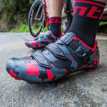 Santic Men Pro Cycling Shoes Breathable PU Road Bike Shoes Auto-Locking Athletic Racing Bicycle Shoes Sneaker sapatilha ciclismo