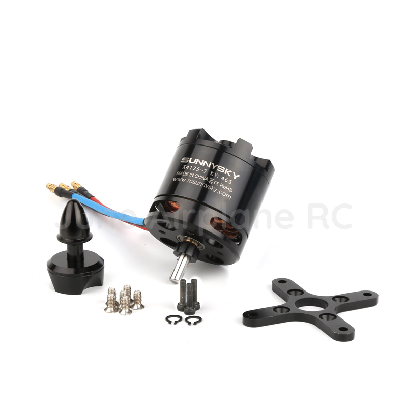 100% Original SunnySky X4125 KV465 KV550 6S high efficiency brushless motor Fixed wing motor drone accessories bl motor t motor u power u8 high efficiency multi axis rotary disc brushless motor tm efficiency series