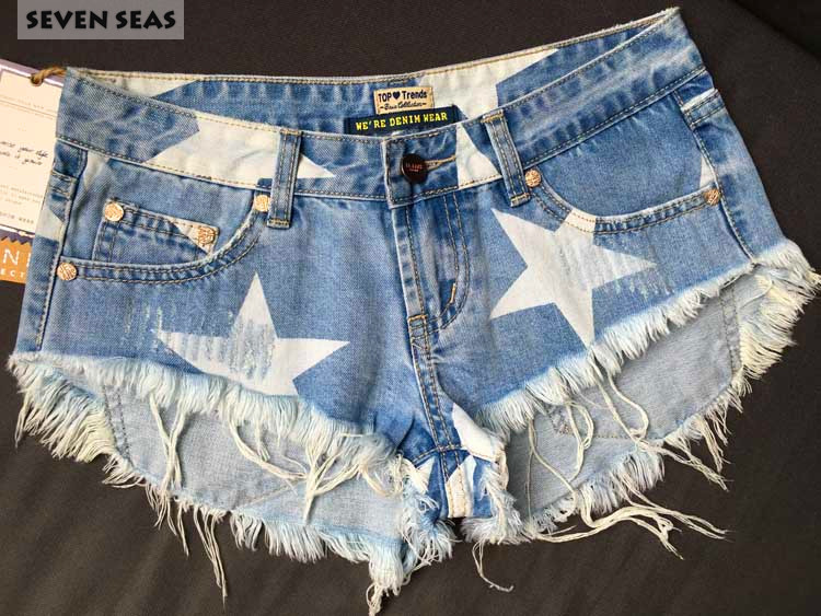 Ljeto Seksi problematične raskopčane kratke hlače Femme mujer - Ženska odjeća - Foto 4