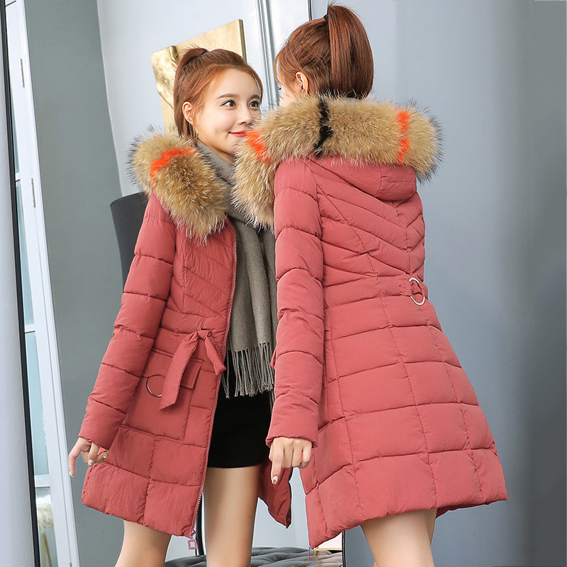 Faux Fur   Parkas   Women Down Jacket New 2019 Winter Jacket Women Thick Snow Wear Winter Coat Lady Clothing Female Jackets   Parkas