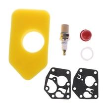 5 шт./компл. прокладка диафрагмы Carb, воздушный фильтр для двигателей Briggs & Stratton, новые детали двигателя